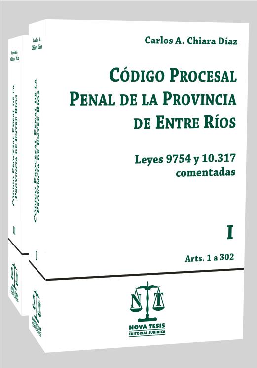 Código Procesal Penal de Entre Ríos COMENTADO